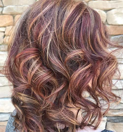 Burgundy Highlights In Brown Hair Find Your Perfect Hair