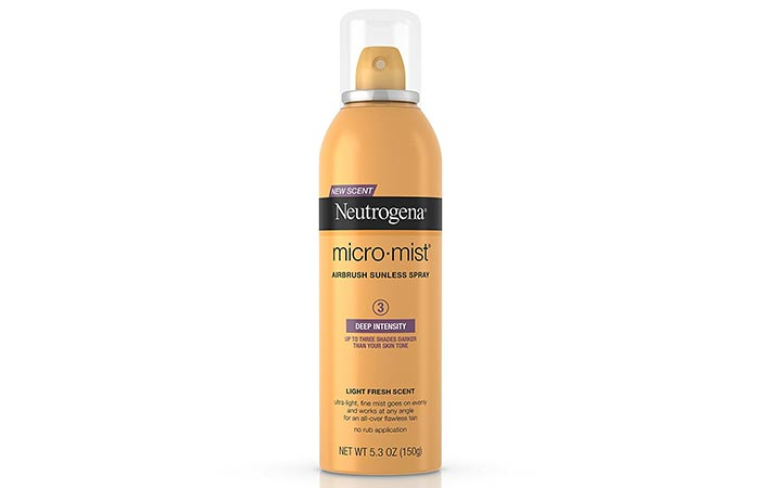 Best Self Tanners For Face - Neutrogena Micro-Mist Airbrush Sunless Tan