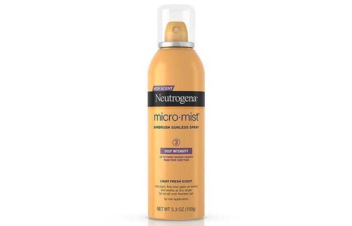 9.Neutrogena Micro-Mist Airbrush Sunless Tan