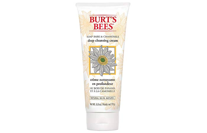 Burts Bees Soap Bark Chamomile Deep Cleansing Cream