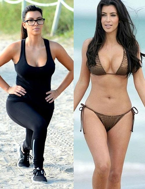 Kim Kardashian Workout Routine
