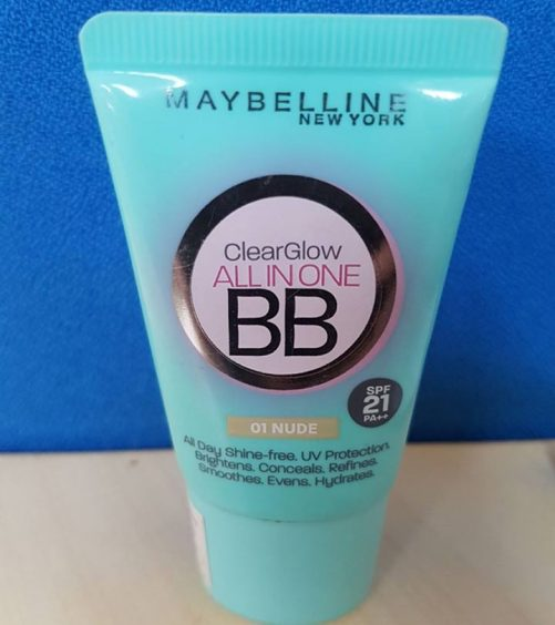 Maybelline Clear Glow Bright Benefit Cream Review