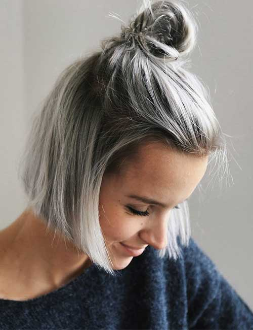 25 trendy balayage kapsels haarstijlen voor kort haar