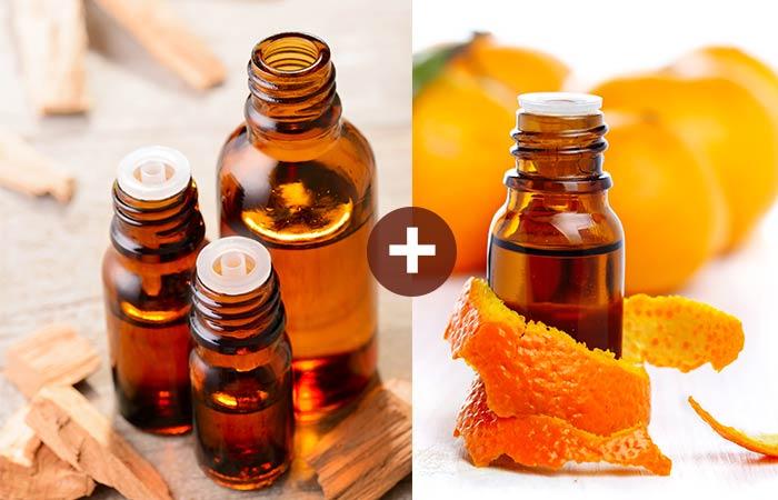 Sandalwood And Orange Essential Oil