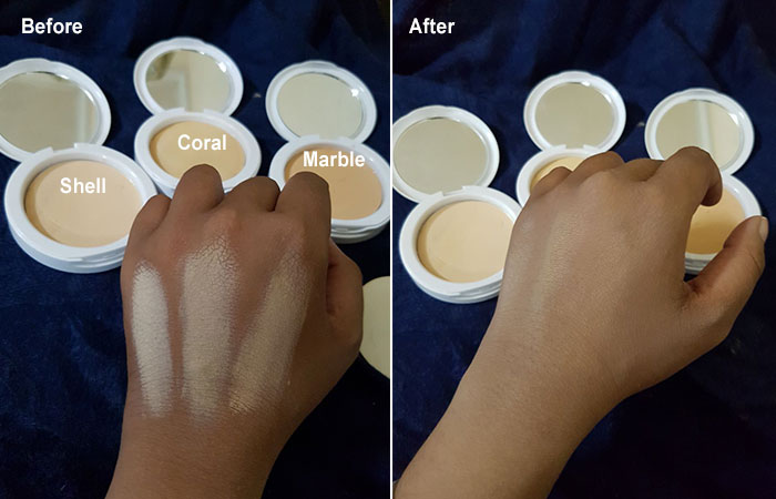 Maybelline White Superfresh Compact Shades
