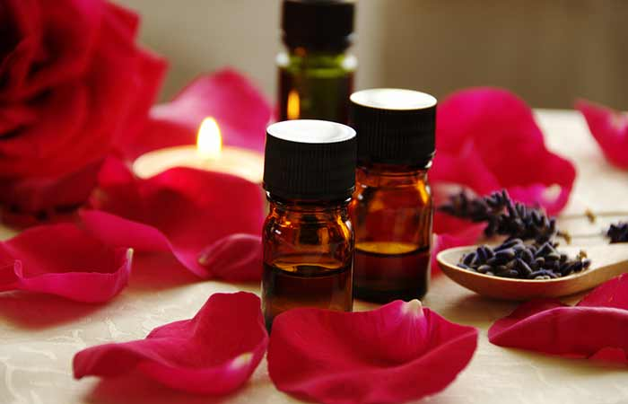 e. Rose Essential Oil