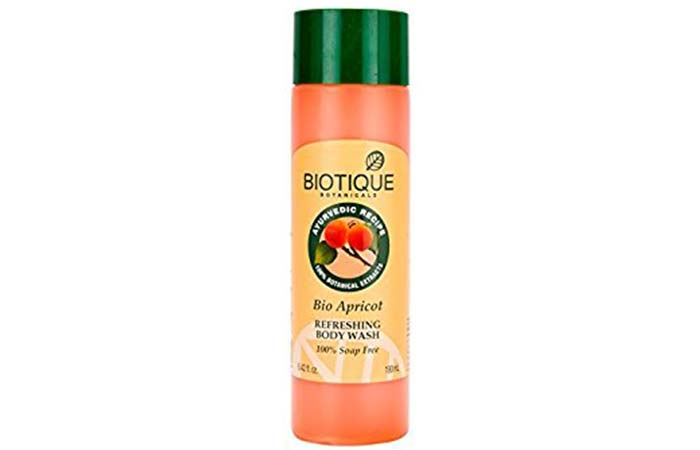 Best Organic Body Washes - Biotique Bio Apricot Body Wash