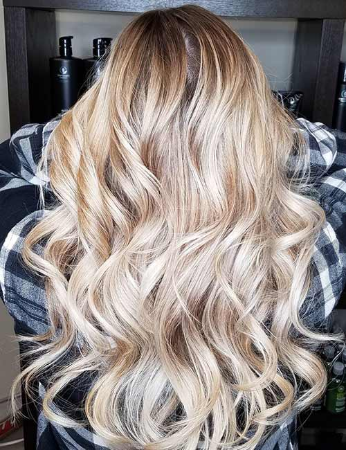 1. Golden Blonde Sombre