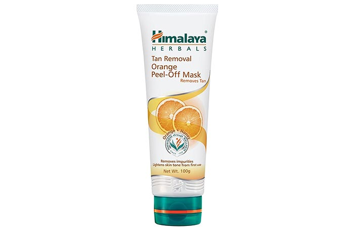1. Himalaya Orange Peel Off Mask