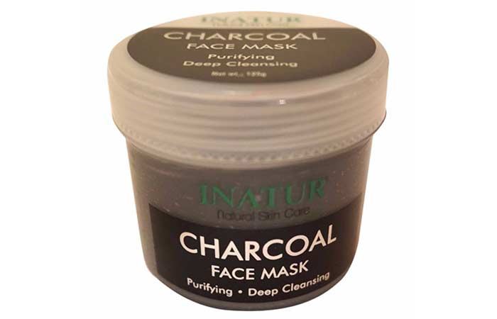 Best Charcoal Face Masks - Inatur Charcoal Face Mask