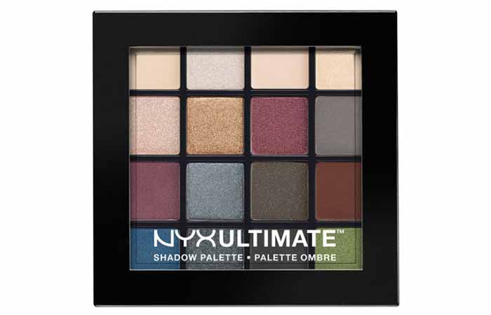 NYX Ultimate Shadow Palette In Smokey And Highlight