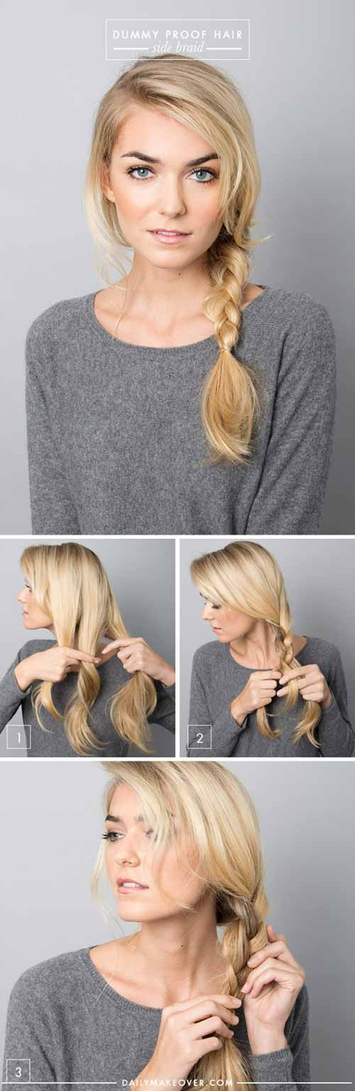 1. Simple 3 Strand Braid