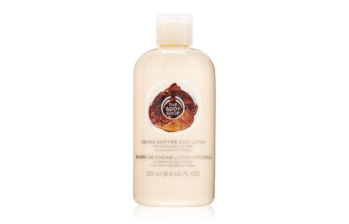 Cocoa Butter Lotion - The Body Shop Cocoa Butter Hand And Body Lotion