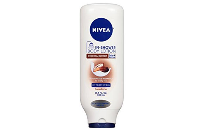 In-Shower Body Lotion - Nivea Cocoa Butter In-Shower Body Lotion