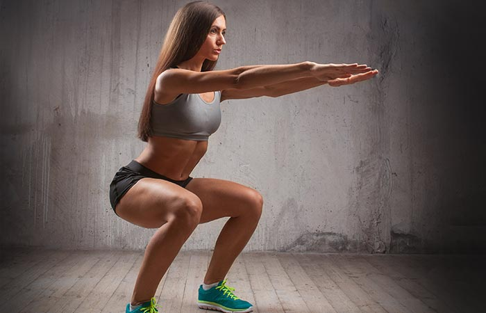 How To Do Squats - Pulse Squat