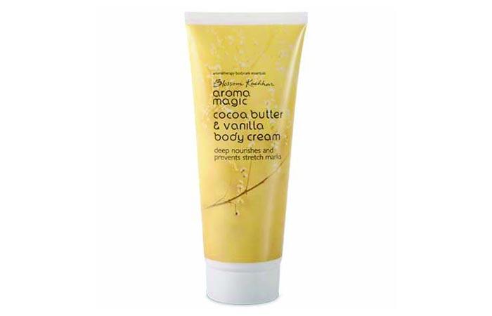 10. Aroma Magic Cocoa Butter And Vanilla Body Cream