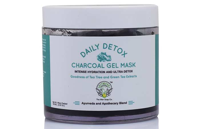 Best Charcoal Face Masks - Greenberry Organics Charcoal Gel Face Mask