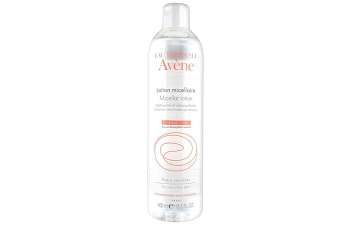 11. Eau Thermale Avene Micellar Lotion Cleanser and Makeup Remover