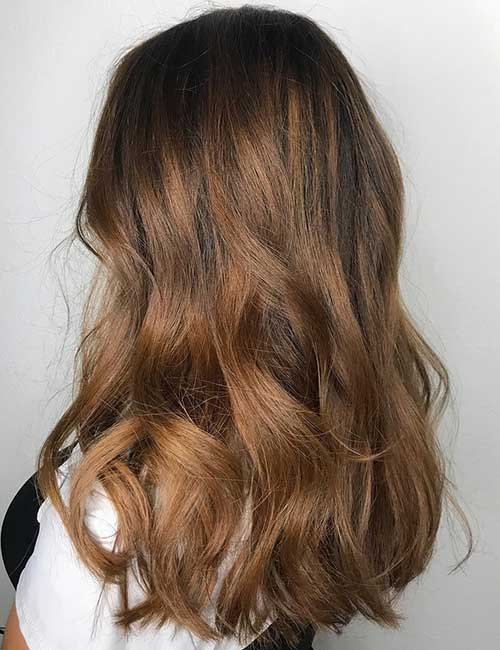 11. Heavy Light Brown Balayage