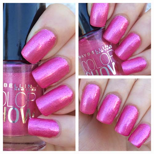 "11. Maybelline Color Show Nail Polish In ""Rose Rapture"" - Best Drugstore Nail Polish"
