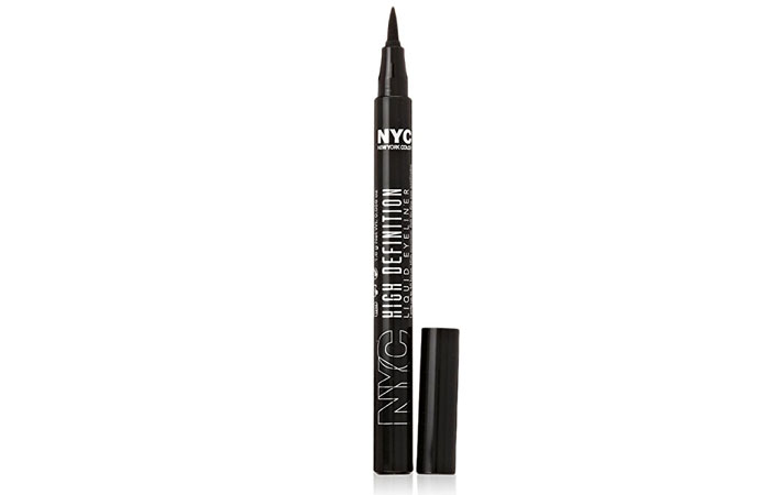 Best Drugstore Liquid Eyeliners - 11. NYC High Definition Liquid Eyeliner