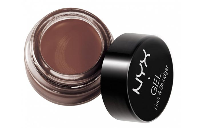 NYX Cosmetics Gel Eyeliner and Smudger