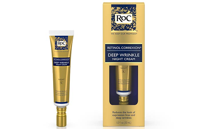 11. ROC Retinol Correxion Deep Wrinkle Night Cream