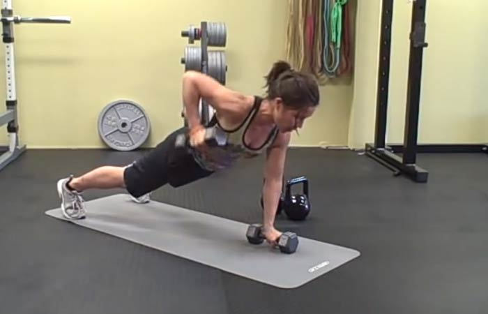 Fat Burning HIIT Workouts - Renegade Rows
