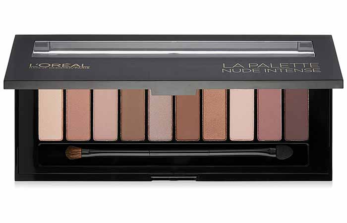 L'Oreal Paris Color Riche La Palette Nude in Nude Intense