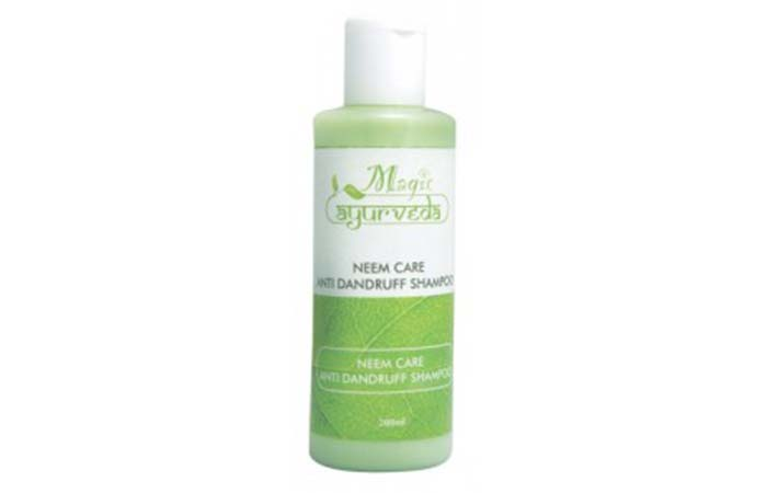 12. Nature's Essence Neem Care Anti-Dandruff Shampoo