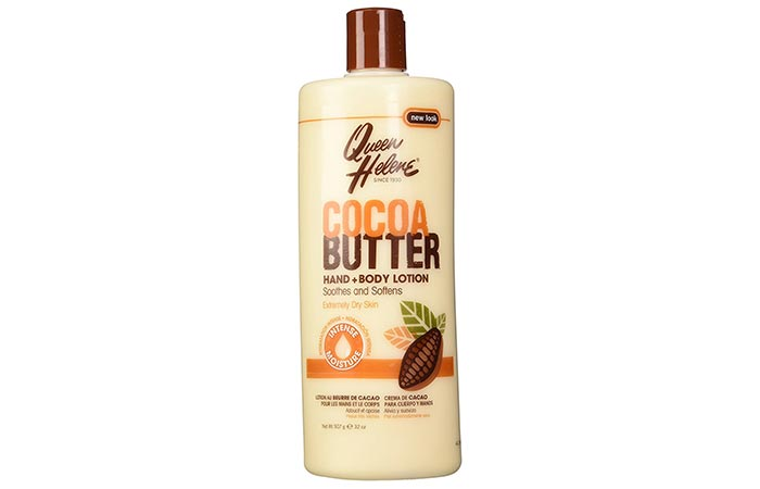 12. Queen Helene Cocoa Butter Lotion