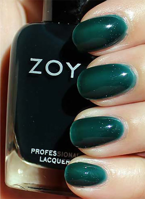 "12. Zoya Nail Lacquer In ""Frida"" - Best Drugstore Nail Polish"