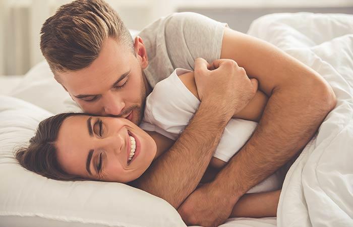 13. Cuddling