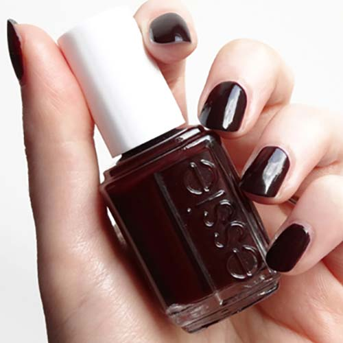 "13. Essie Nail Polish In ""Wicked"" - Best Drugstore Nail Polish"
