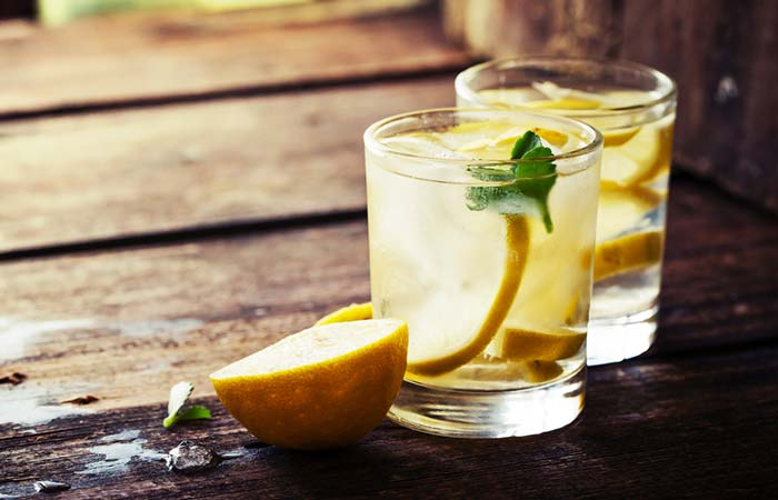 13. Lemon Water