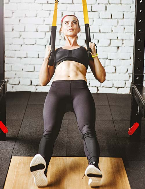 Fat Burning HIIT Workouts - TRX Pull-up