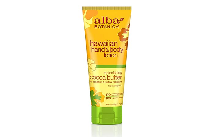 Cocoa Butter Lotion - Alba Botanica Cocoa Butter Body Lotion