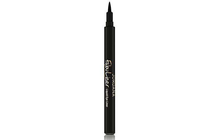 Top Drugstore Liquid Eyeliners - 14. Jordana Fabuliner Liquid Eyeliner Black