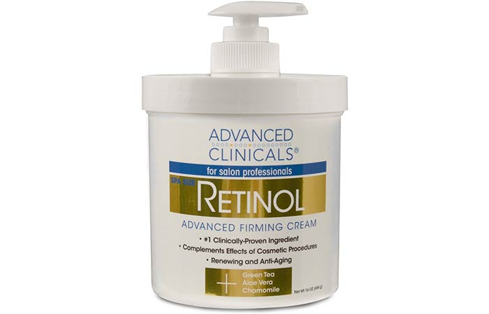 15. Advanced Clinicals Retinol Cream