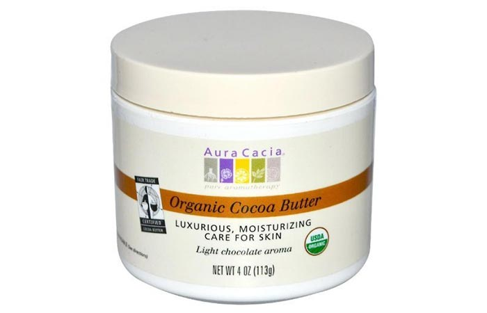 Cocoa Butter Lotion -  Aura Cacia Natural Cocoa Butter