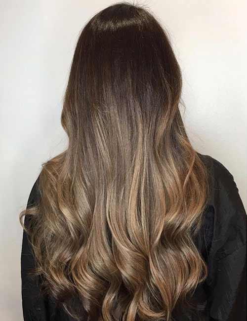 15. Dark To Light Transition Brunette