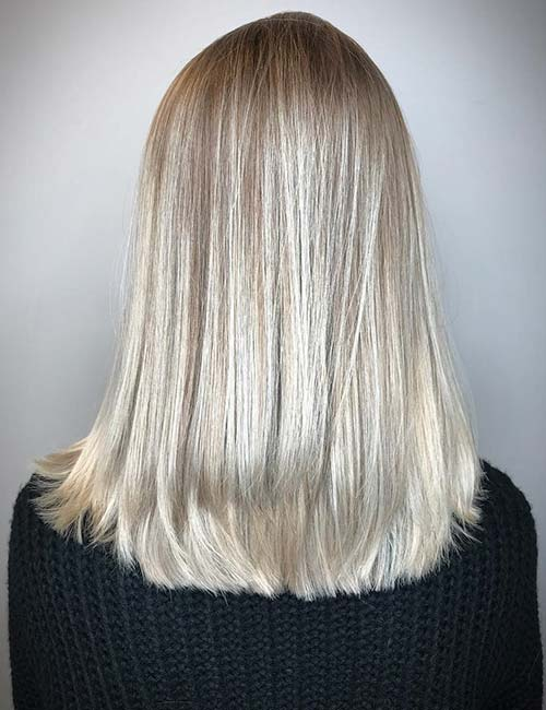15. Dirty Blonde Color Melt