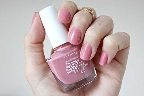 "15. Maybelline Forever Strong Nail Polish In ""Nude Rose"" - Best Drugstore Nail Polish"