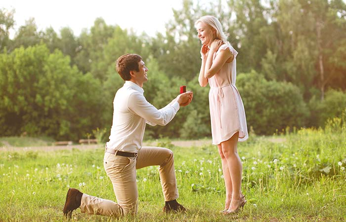 15. Promise Of A Long Lasting Relationship