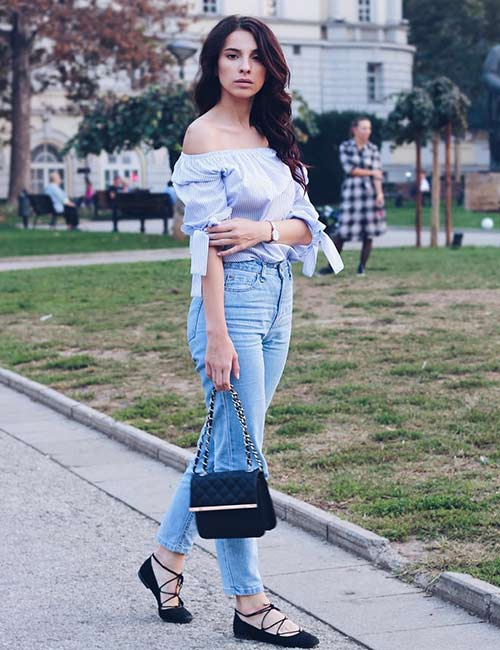 8c9e0d4de5c How To Wear High Waisted Jeans – 20 Outfit Ideas