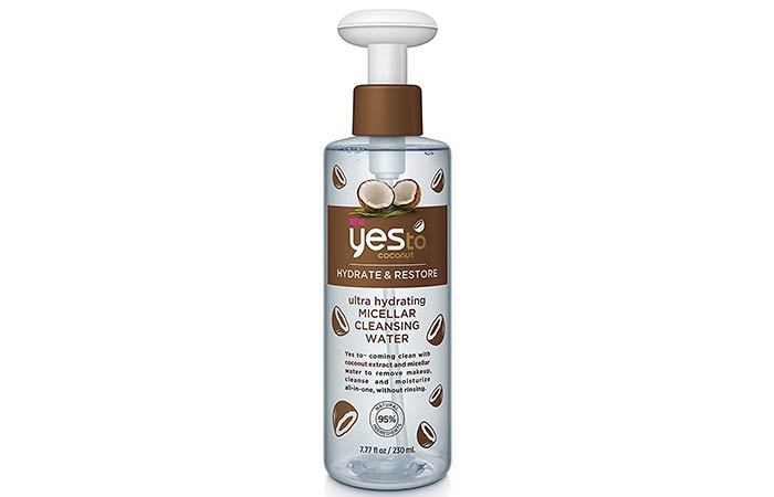 17. Yes To Coconut Micellar Cleansing Water