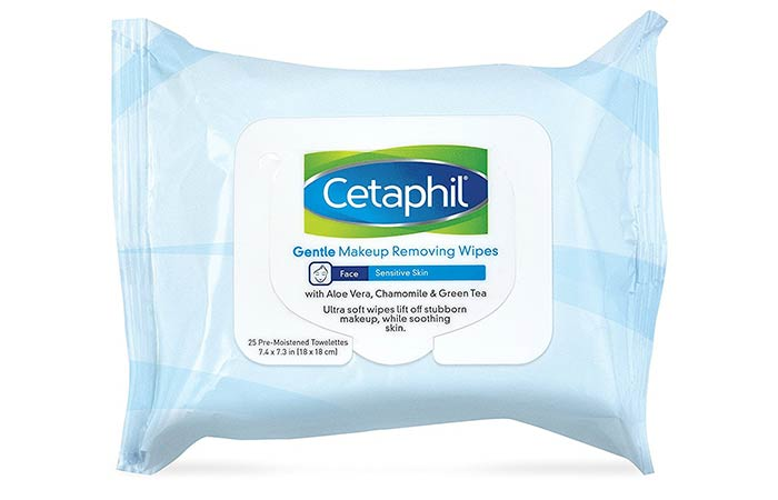 18. Cetaphil Gentle Makeup Removing Wipes