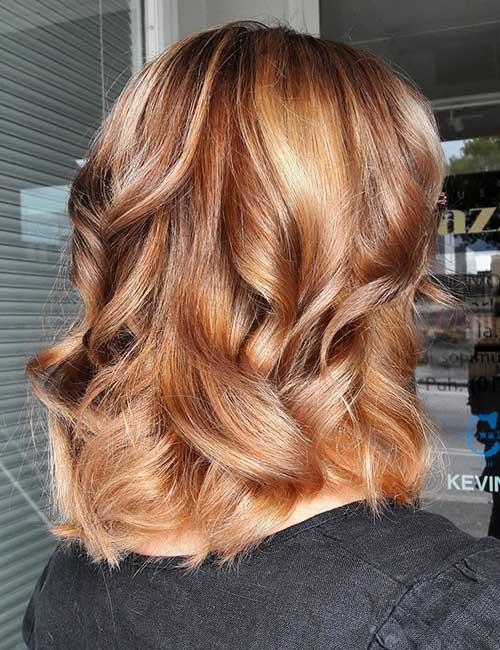 19. Light Auburn Brown Hair