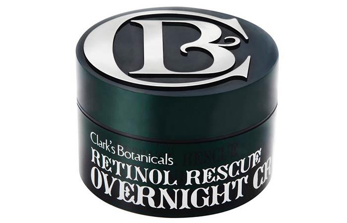 Best Retinol Night Cream - 2. Clark's Botanicals Retinol Rescue Overnight Cream
