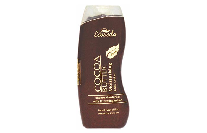 Cocoa Butter Lotion - Ecoveda Cocoa Butter Moisturising Body Lotion